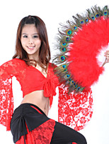 Belly Dance Stage Props Women's Performance Feathers Feather 1 Piece