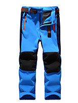 Kids Soft shell Outdoor Pants/boys girls Waterproof Breathable Hiking Outdoor Trousers