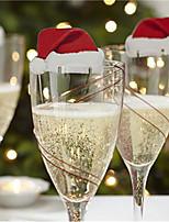 Papel de Cartão Decorações do casamento-10piece / Set Natal