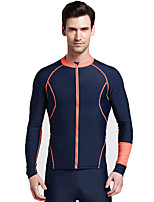 New Diving Suit Split Male and Female Long Sleeve Zipper Diving Suit Jellyfish Clothing Surf Clothing Men and Women Split Sunscreen Swimsuit