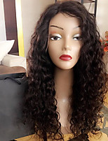 8A Kinky Curly Lace Front Human Hair Wig for Black Woman 180% Density Brazilian Virgin Hair Glueless Lace Wig with Baby Hair
