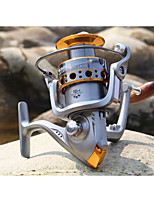 Fishing Reel Bearing Spinning Reels 5.2:1 13 Ball Bearings ExchangableFreshwater Fishing Trolling & Boat Fishing Lure Fishing General