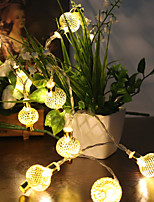 0.5W 1.2m 10 Original Festival  Christmas Ornament Lantern LED String Lights
