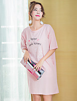 Women's Chemises & Gowns Nightwear,Sports Print Print-Thin