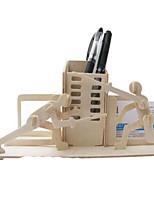Puzzles Kit de Bricolage Puzzles 3D Blocs de Construction Jouets DIY  Autre Bois Naturel