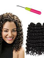Tresses Twist Crochet Kanekalon Blond de fraise Auburn Noir / Medium Auburn Noir / Bourgogne Brun Extensions de cheveux 10