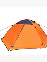 3-4 persons Tent Camping Tent Fold Tent Keep Warm for Camping / Hiking CM Other Material