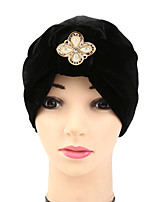 Women's Fashion Bow Solid Floppy Bucket  Turban Hat & Cap