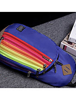 Women Shoulder Bag Linen All Seasons Casual Outdoor Round Without Zipper Wine Blushing Pink Light Orange Light Blue Deep Blue
