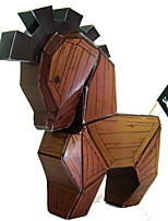 Quebra-cabeças Quebra-Cabeças 3D Quebra-Cabeça Blocos de construção Brinquedos Faça Você Mesmo Quadrada