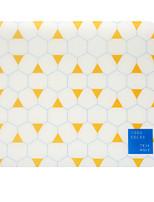 Quadrado da juventude tr-af18547 temperamento geometria mouse pad impermeável desgaste 22,5 * 19,5 * 0,5 cm