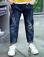Jeans Da ragazzo Cotone Con ricami Primavera Estate