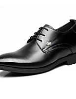 Men's Oxfords Formal Shoes Cowhide Spring Fall Casual Formal Shoes Black Under 1in