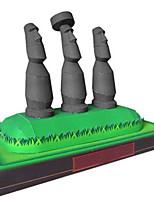 Puzzles Puzzles 3D Blocs de Construction Jouets DIY  Carré Papier cartonné