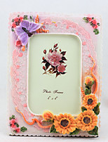Picture Frames Country Casual Novelty Resin Decoration Flower Gifts