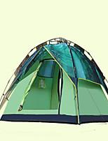 3-4 personnes Tapis de camping Tente pliable Tente de camping Tissu Extérieur Garder au chaud Camping & Randonnée-Camping / Randonnée