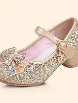 Mädchen Flache Schuhe Schuhe für das Blumenmädchen Komfort Kunstleder Sommer Herbst Normal Kleid Schuhe für das Blumenmädchen Komfort