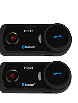 2Pcs/Set E2 Helmet Headset Bluetooth Motorcycle Helmet Bluetooth Intercom Headphones Intercomunicador Del Casco De La Motocicleta Interphones