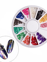 12Colours Metal Chain Nail Art Decoration