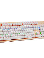 HANSTEAD CK 104Kyes USB Mechanical Keyboard Green Axis  With 160CM Cable