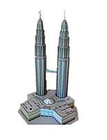 Jigsaw Puzzles DIY KIT 3D Puzzles Building Blocks DIY Toys Tower Famous buildings Architecture