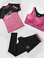 Féminin Course / Running Ensemble de Vêtements Fitness, course et yoga Printemps Eté Vêtements de sport Yoga Course Fitness Jogging