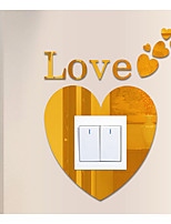 Love The Specular Adornment Wall Stickers Switch