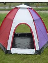 3-4 personnes Sac de Voyage Tente pliable Tente de camping Satin Elastique Garder au chaud