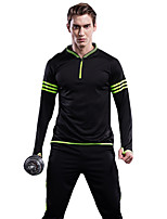Men's Women's Running Pants Long Sleeves Fitness, Running & Yoga Quick Dry Clothing Suits for Running/Jogging Exercise & Fitness