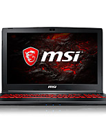 Msi gaming laptop 15,6 pollici intel i5-7300hq 8gb ddr4 1tb hdd 128gb ssd windows10 gtx1050ti 4gb gl62m 7rex-1481cn
