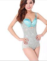 Women's Underbust Corset Nightwear,Lace Solid-Medium Cotton Women's