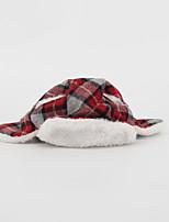 Собака Банданы и шляпы Одежда для собак Рождество Сплошной цвет Красный Розовый