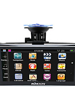 Kkmoon 7 hd touch screen navegador gps portátil 128mb ram 4gb rom fm mp3 video play carro sistema de entretenimento com apoio de volta