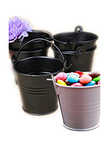 Tin Candy Pails Beter Gifts® Party Decorations - 12pcs/set - 7 x 6 x 6 cm/pcs