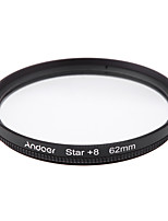Andoer 62mm Filter Set UV  CPL  Star 8-Point Filter Kit with Case for Canon Nikon Sony DSLR Camera Lens