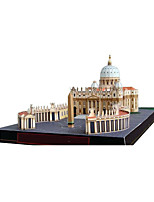 Jigsaw Puzzles DIY KIT 3D Puzzles Building Blocks DIY Toys Famous buildings Church Architecture