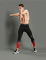 WOSAWE Men's Running Pants Fitness, Running & Yoga Tights for Yoga Running/Jogging Exercise & Fitness Fitness Polyester Elastane Terylene