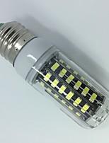 5W AC220-240V White Warm white E14 E27 LED Corn Lights T 56 SMD 5733 500 lm   Decorative  Segmented dimmer 1 pcs