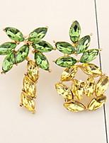 Mujer Pendientes colgantes CristalDiseño Básico Diseño Único Colgante Geométrico Amistad Las formas múltiples de desgaste Estilo lindo