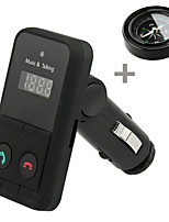 301E Wireless Bluetooth FM Transmitter Modulator Car Kit MP3 Player LCD Display Support SD USB Remote Control with Compass
