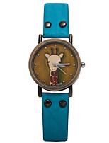 Жен. Спортивные часы Армейские часы Модные часы Наручные часы Уникальный творческий часы Повседневные часы Кварцевый PU Группа