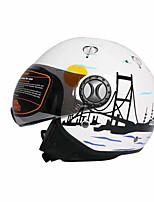 TANK TK-701 Motorcycle Helmet Electric Car Female Half-Covered Four Seasons Half Helmet Knight Motorcycle Motorcycle Helmet Winter Warm Collar