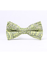 Men's Polyester Bow Tie,Full Coverage Casual Jacquard All Seasons