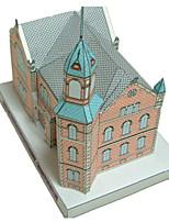 Rompecabezas Kit de Bricolaje Puzzles 3D Bloques de construcción Juguetes de bricolaje Castillo Edificio Famoso
