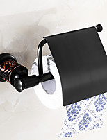 Toilet Paper Holder Shower Basket / Oil-rubbed Copper Brass