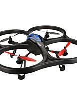 Drone V393 4CH 6 Eixos Iluminação De LED Auto-Decolagem Seguro Contra Falhas Modo Espelho InteligenteQuadcóptero RC Controle Remoto 1
