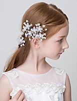 Girl's Hairpin 1pcs Flower Ornament Flower Girl Headwear