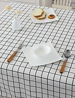 Cotton And Linen Rectangular Lattice Garden Small Fresh Coffee Table Cloth