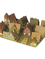 Jigsaw Puzzles DIY KIT 3D Puzzles Building Blocks DIY Toys Architecture Hard Card Paper
