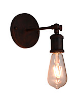 AC 100-240 4 E27 Rústico/Campestre LED Vintage Tradicional/Clásico Pintura Característica for LED Bombilla Incluida,Luz hacia abajoLuz de